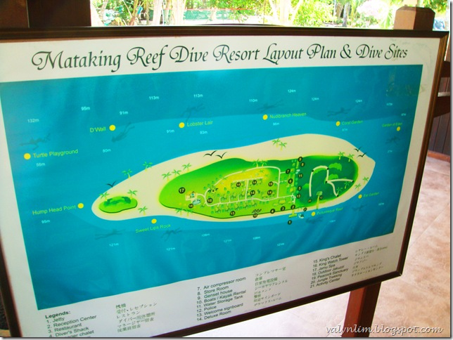 Sipadan 沙巴 第一章~ Mataking Island, The Reef Dive Resort